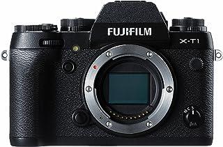 Fujifilm X-T1 16 MP kompakt systemkamera med 3,0-tums LCD-kropp endast – svart
