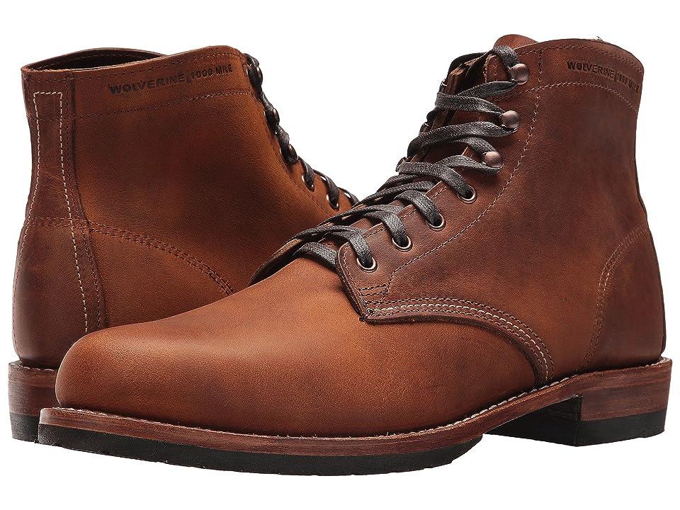 Wolverine Heritage Evans (Brown Leather) Men