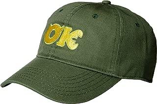 Pixar Monsters University Inc Ozma Kappa Adjustable Baseball Cap Hat Green