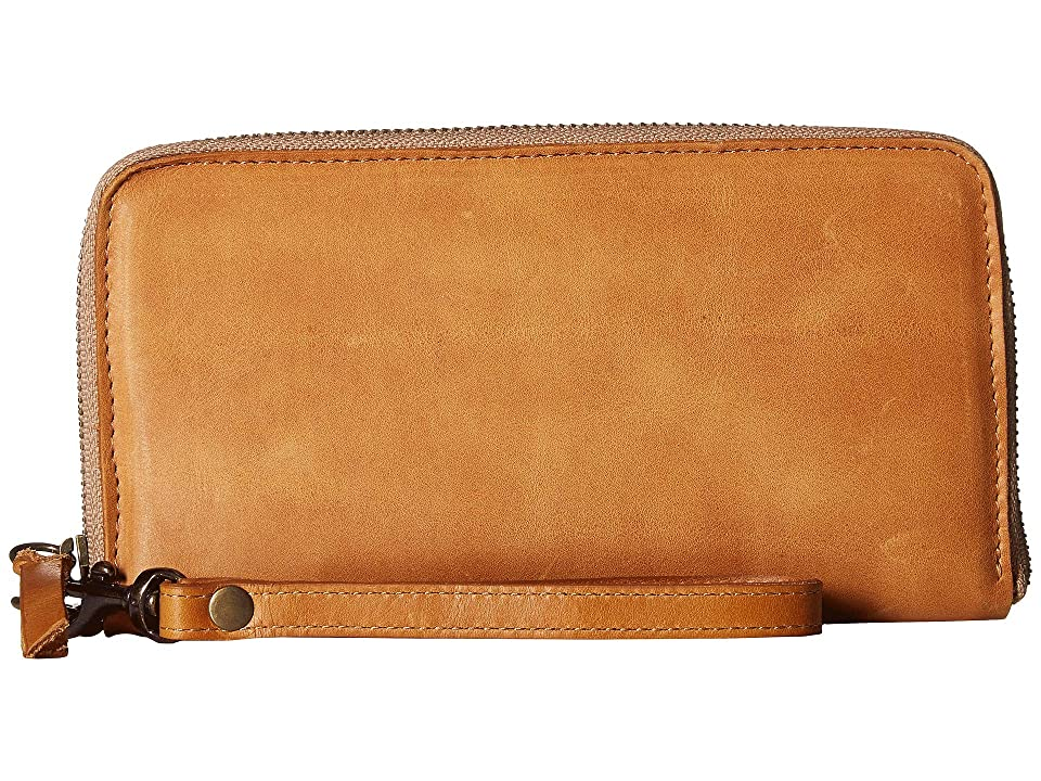 ABLE Alem Continental Wallet (Cognac) Wallet Handbags