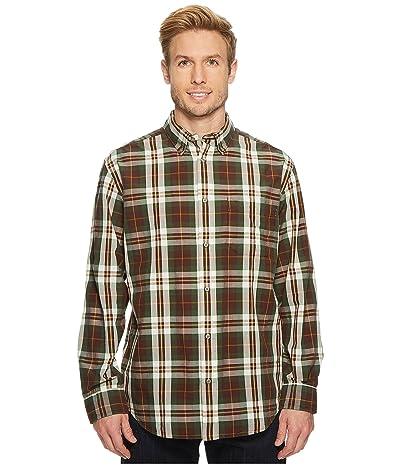 Filson Sutter Sport Shirt (Brown/Forest/Gold) Men
