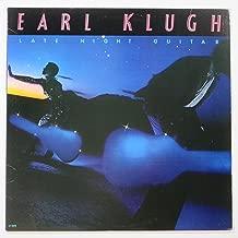 Earl Klugh - Late Night Guitar Ronnie Cuber, David Tofani, Sam Burtis, Ken Ascher Dave Matthews Arranger, conductor
