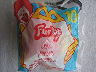 McDonalds Happy Meal Furby Plush Toy with key holder 2000 #10