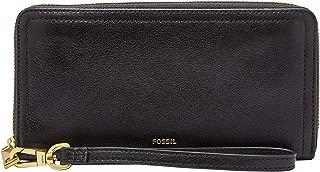 Fossil Women's Wallet, 7.75''L x 0.75''W x 4''H, Black