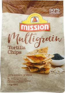 Mission Triangle Corn Chips, Multigrain, 170g