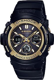CASIO 卡西欧 日本品牌 G-SHOCK系列 石英男士手表 AWG-M100SBG-1A