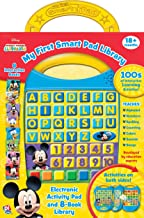 Disney Mickey Mouse Clubhouse - My First Smart Pad Electronic Activity Pad and 8-Book Library - PI Kids