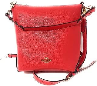 Coach Mini Abby Duffle Crossbody Bag in Pebble Leather