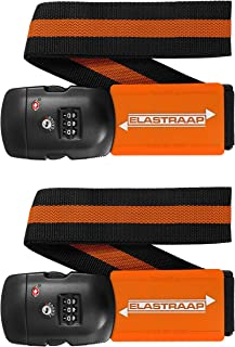 Luggage Strap ELASTRAAP Superior Strength Non-Slip with TSA Combination Lock