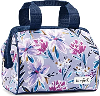Fit & Fresh Insulated Lunch Bag, Charlotte Tulane Floral Lilac