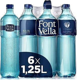 Font Vella Agua Mineral Premium - Pack de 6 x 1,25L
