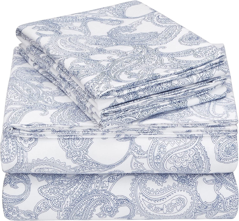 Amazon Brand – Pinzon 170-Gram Flannel Set Bed Cal Sale Factory outlet item Cotton Sheet