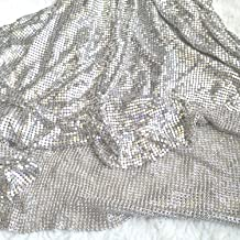 sequin mesh material