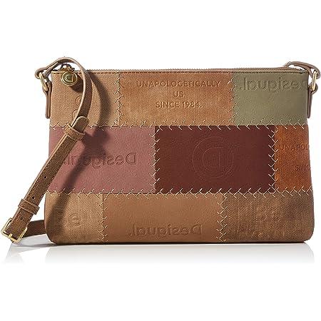 Desigual Womens Accessories PU Across Body Bag, Brown, U