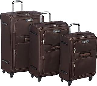 TraveliteLuggage Trolley Bags Set 4 pcs 887065-brown