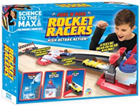 Sponsored Ad - Be Amazing! Toys Max Fuel & Duel Rocket Racers Science Racing Toy Cars for Kids - Fun Chemistry Science Kit...