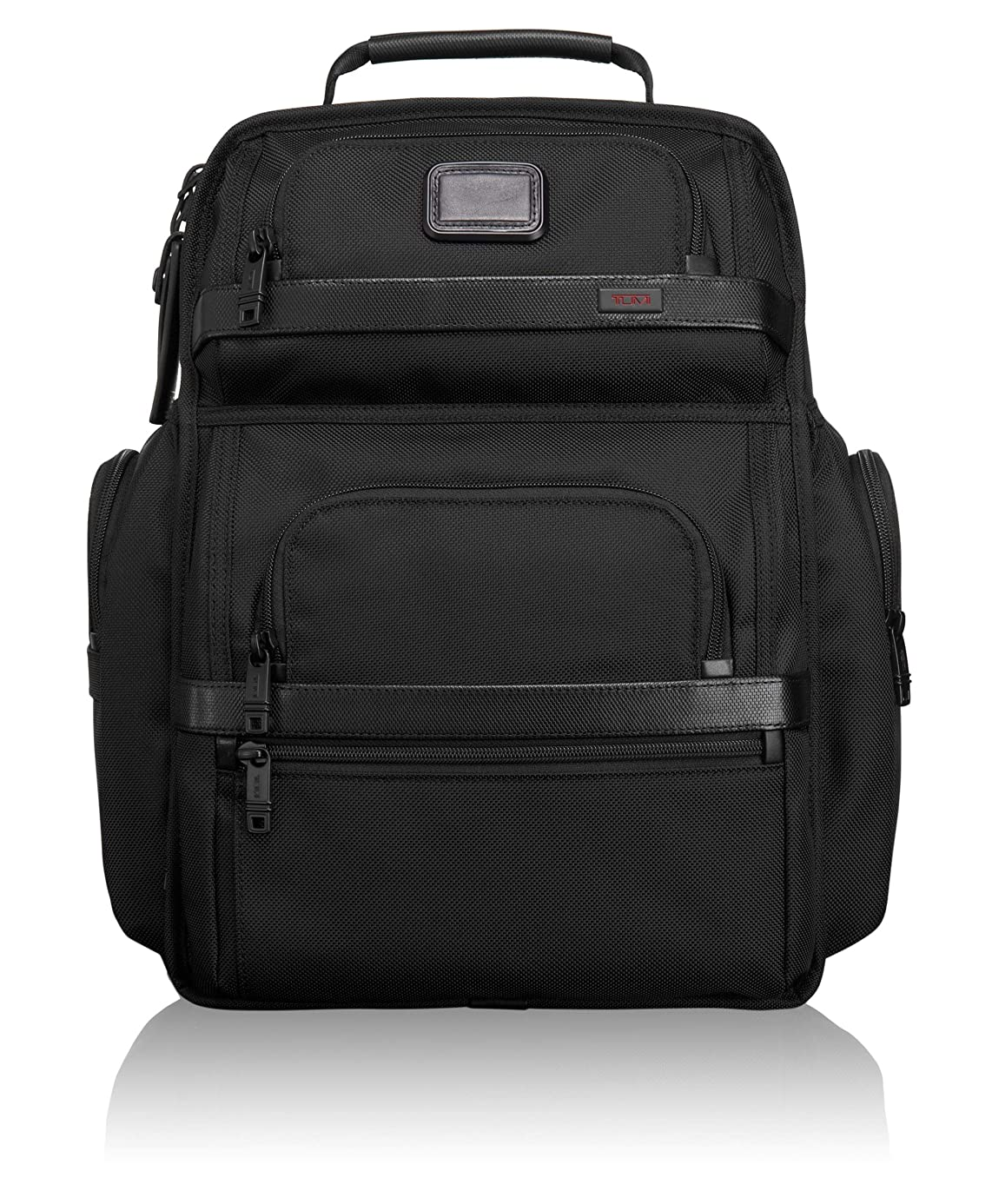 TUMI - Alpha 2 T-Pass Business Class Laptop Brief Pack - 15 Inch Computer Backpack for Men and Women - Black