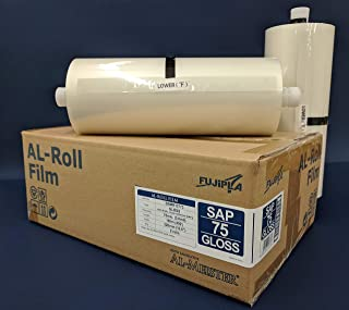 Pack of 2 Rolls- ALPS-LAM FUJiPLA-AL-ALM Automatic Laminator Roll Film (3.0 Mil (SAP-75)) Price is Per Pack, Each Pack Contains Two Rolls