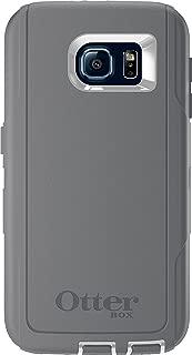 OtterBox DEFENDER SERIES for Samsung Galaxy S6 - Retail Packaging - Glacier (White/Gunmetal Grey)