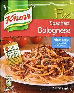 Knorr Fix spaghetti bolognese (Spaghetti Bolognese) (Pack of 4)