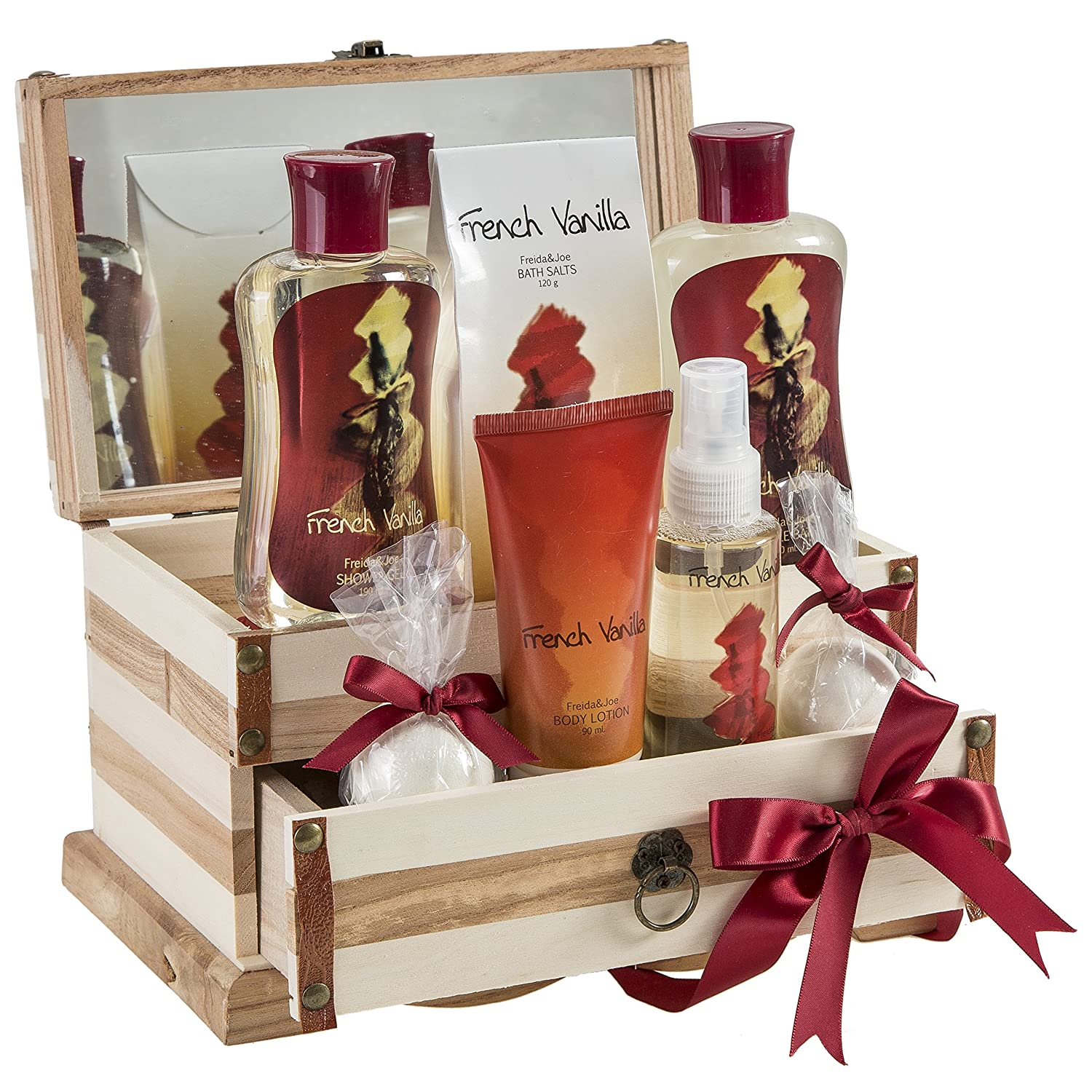 French Vanilla Bath Set Essential and Body 2 Vanill New product Same day shipping type Basket: