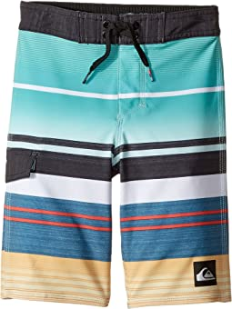 Quiksilver Kids - Everyday Stripe Vee Boardshorts (Toddler/Little Kids)