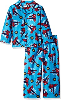 Marvel Boys' Spiderman 2-Piece Pajama Coat Set