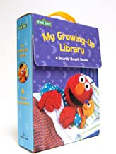 My Growing-Up Library: Sesame Street Board Books- Too Big for Diapers / Big Enough for a Bed / Too Big for Bottles / Big Enough for a Bike