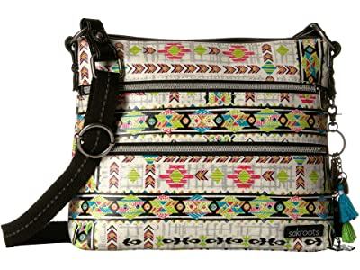 Sakroots Artist Circle Basic Crossbody (Optic Spirit Wanderer) Cross Body Handbags