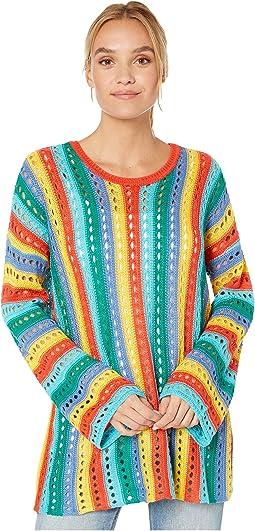 Rainbow Tropic Knit