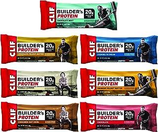 Clif Builder's - Protein bar - 7-Flavor Variety Pack - (2.4 oz Non-GMO bar, 14Count)