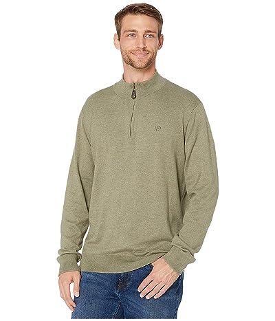 Southern Tide Pacific Highway 1/4 Zip Sweater (Dark Sage) Men