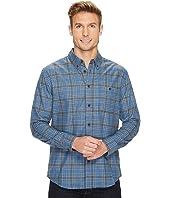 Quiksilver Waterman - Cortez Straight Long Sleeve Flannel Shirt