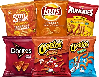 Frito-Lay Cheesy Mix Variety Pack, 40 Count