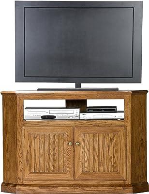 "Eagle Heritage Corner TV Cart, 46"" Tall, Concord Cherry Finish"