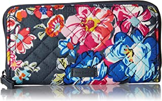 Vera Bradley womens Iconic Rfid Georgia Wallet, Signature Cotton