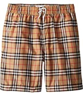 Burberry Kids - Galvin Check ACIMK Swim Trunks (Little Kids/Big Kids)