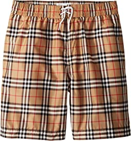 Burberry Kids Galvin Check ACIMK Set (Little Kids/Big Kids)