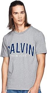 Calvin Klein Jeans Men's Curved Varsity Regular Fit T-Shirt