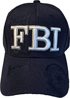 Presidential Souvenirs FBI Baseball Hat - Navy Blue