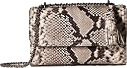 Tory Burch - Fleming Embossed Small Convertible Shoulder