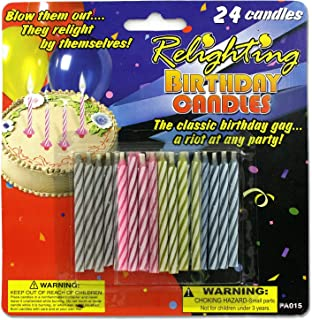 Kole Imports Relighting Birthday Candles