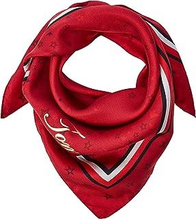 Cny Silk Square, Pañuelo Mujer, Rojo (Red Print 901), Talla única (Talla del fabricante: OS)