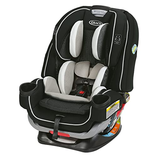 Graco 4Ever Extend2Fit 4 in 1 Car Seat   Ride Rear Facing Longer with Extend2Fit, Clove