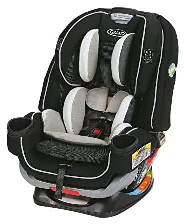 Graco 4Ever Extend2Fit 4 in 1 Car Seat | Ride Rear Facing Longer with Extend2Fit, Clove: image
