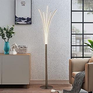LED Lampadaire 'Boba' (Moderne) en Gris en Aluminium e. a. pour Salon & Salle à manger (1 lampe,à) | Lampadaire Sur Pied, ...