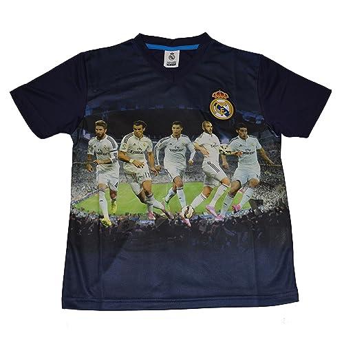 2a1a80909 Real Madrid Jersey Soccer Photo Boys Youth Kids Cristiano Ronaldo