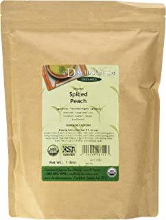 Davidson's Tea Bulk, Spiced Peach, 16-Ounce Bag