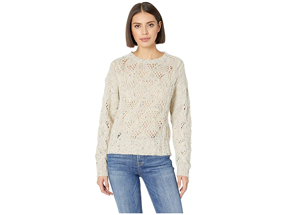 Lucky Brand Donegal Pullover Sweater (Natural Multi) Women's Sweater