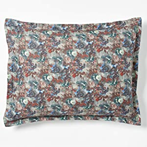 Robert Graham Home Tapestry 400 Thread Count Italian Percale Woven with Extra-Fine Long Staple Cotton Pillow Sham (King)